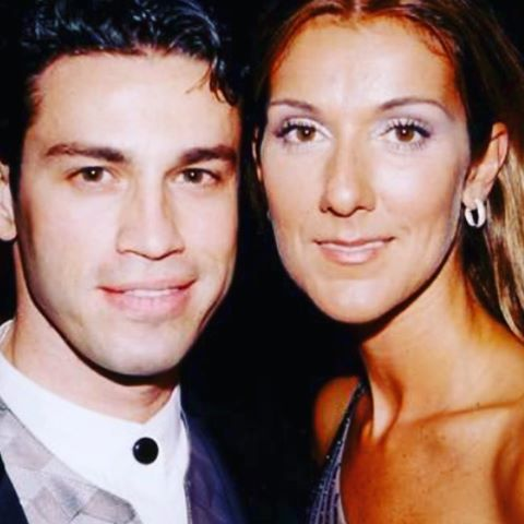Mario Frangoulis and Celine Dion