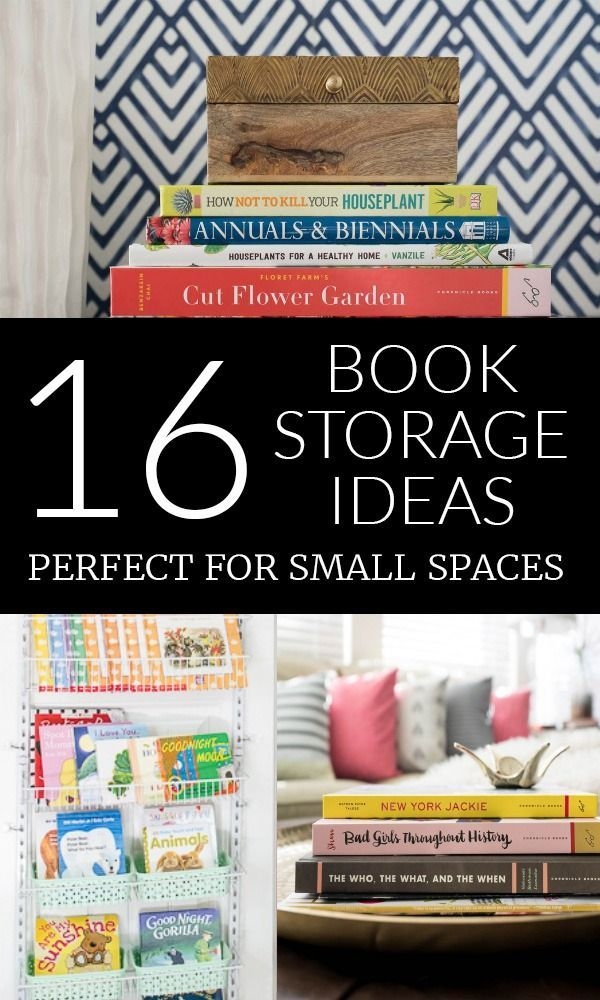 16 Creative Book Storage Ideas Decorate With Books Bloggers