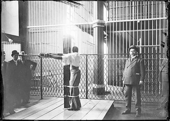 Whipping Post 1835 Ntil 1938 Used At Baltimore City Jail