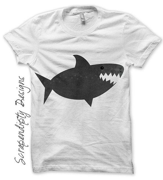 Shark Iron On Transfer Ocean Iron On Shirt Pdf Diy