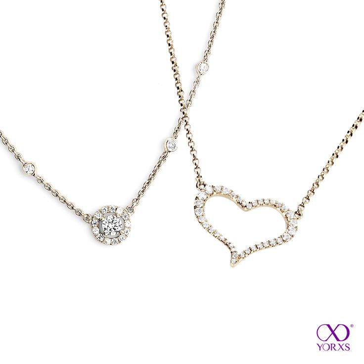 Spring arrives and love is in the air! Especially with these necklaces #Yorxs