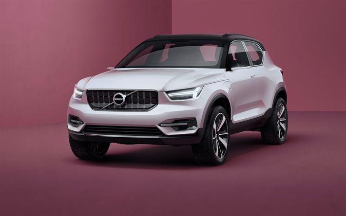 Indir duvar kağıdı Volvo XC40, 4k, 2018 arabalar, geçitler, yeni xc40, Volvo