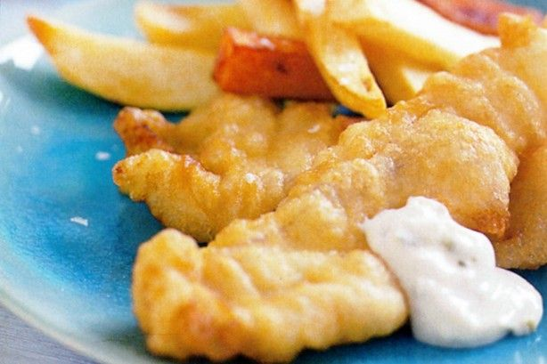 Next time you're craving takeaway fish and chips, look no further than your own kitchen.