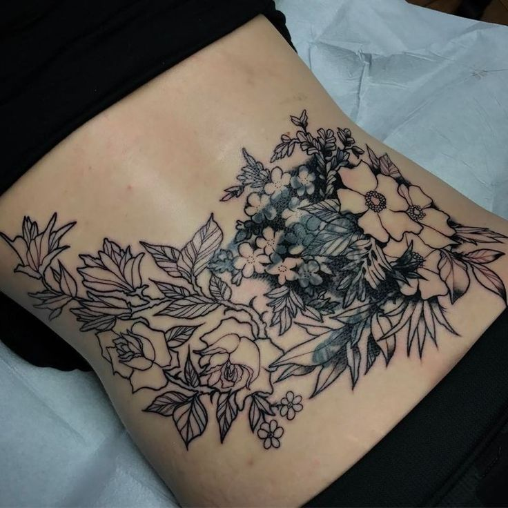 Tattoo Designs Upper Back: Tramp Stamp Tattoos, Arm Wrap Tattoo And Lower