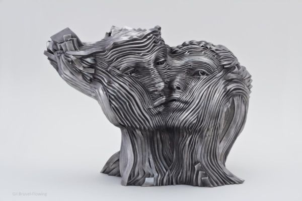 Gil Bruvel - #sculpture #metal #art #rzeźba #sztuka