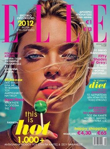 Magazine: Elle Greece July 2012
