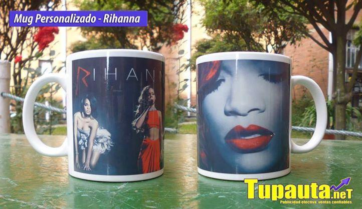 Mug Musical: Rihanna Valor: $10.000 Contacto: Web: www.tupauta.net Email: tupautacolombia@hotmail.com Contacto Directo en Bogotá: (1) 722 2992 Movil: 319 293 8386 - 319 333 7534 Av. Calle 30 # 2-86 Este. Ofi: 202 San Mateo, Soacha