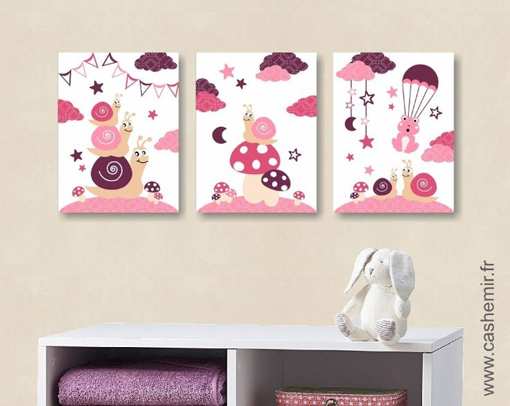 Poster pour chambre fille for Deco chambre girly