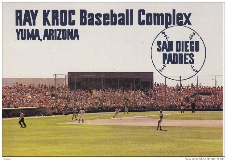 Ray Krock Field. I got to meet Alex Rodriguez when he was still a rookie playing for the Mariners. You know...before he got all juiced up, sold out to the Yanks and cheated on his wife with Madonna. Long story short...the good ol' days