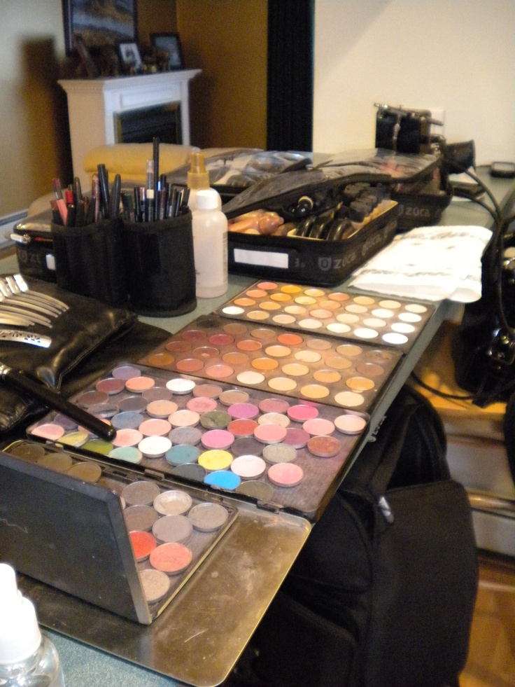 Mac makeup - My studio (guest bedroom) will look like this SOON!