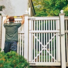 How to Repair a Fence Gate