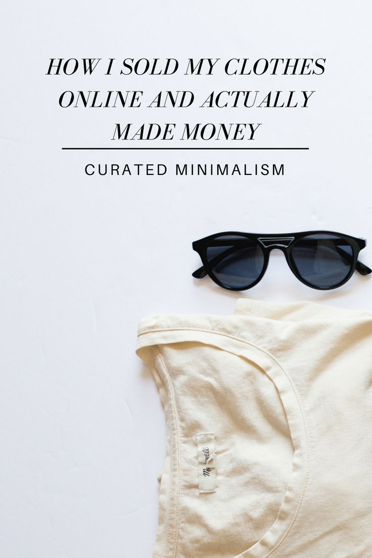 Selling Your Clothes Online    Making Money Off Of Your Closet    Fashion    Style    Wardrobe    Minimalism    Clothing    Curated Minimalism    Pregnancy    Maternity Clothes