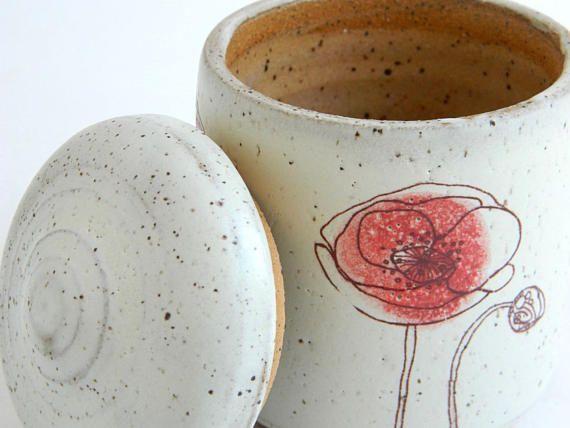 Keepsake Poppies Urn  4  pet urn small urn funeral