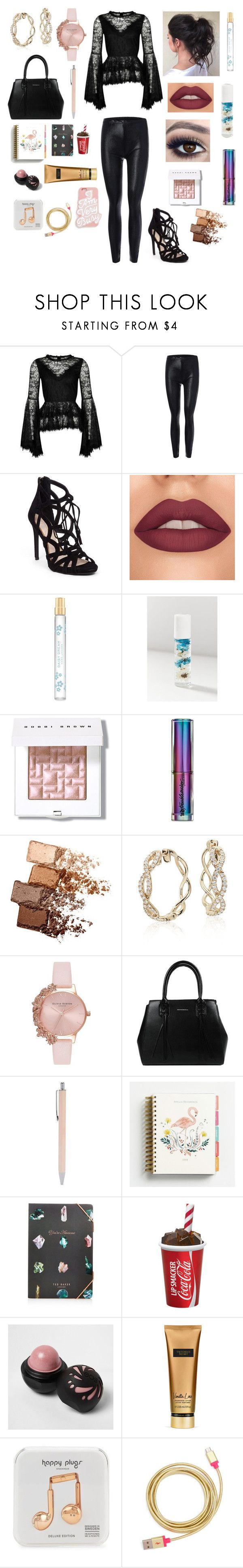 """""""FIRST DAY OF WORK"""" by drawsomething21496 ❤ liked on Polyvore featuring Jessica Simpson, Marc Jacobs, Blossom, Bobbi Brown Cosmetics, Urban Decay, Maybelline, Olivia Burton, Forever 21, Ted Baker and River Island"""