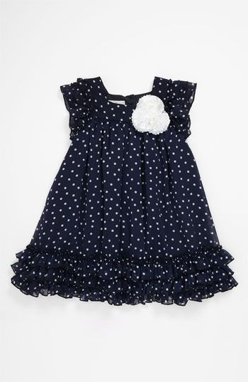Pippa & Julie Polka Dot Dress (Toddler) | Nordstrom