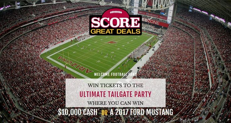 Get a pair of Arizona Cardinal Tickets, or $10,000 cash, or a trip to Hawaii, or  a set of 2 Cardinals 2017 Season Tickets.                                    #Sweepstakes, #Tickets, #Car, #Big, #Cash