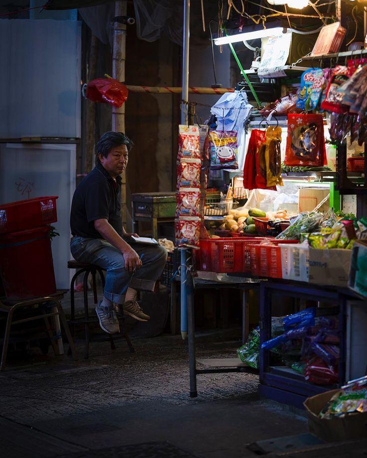 Street workers of Hong Kong.