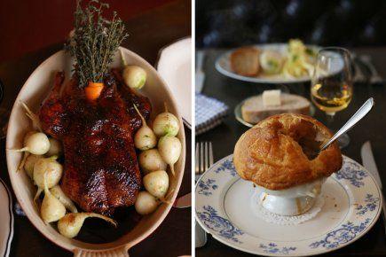 Cuisine française ; Deux Recettes : Canard aux navets et à l'orange & Soupe en croûte (Source : La Presse)