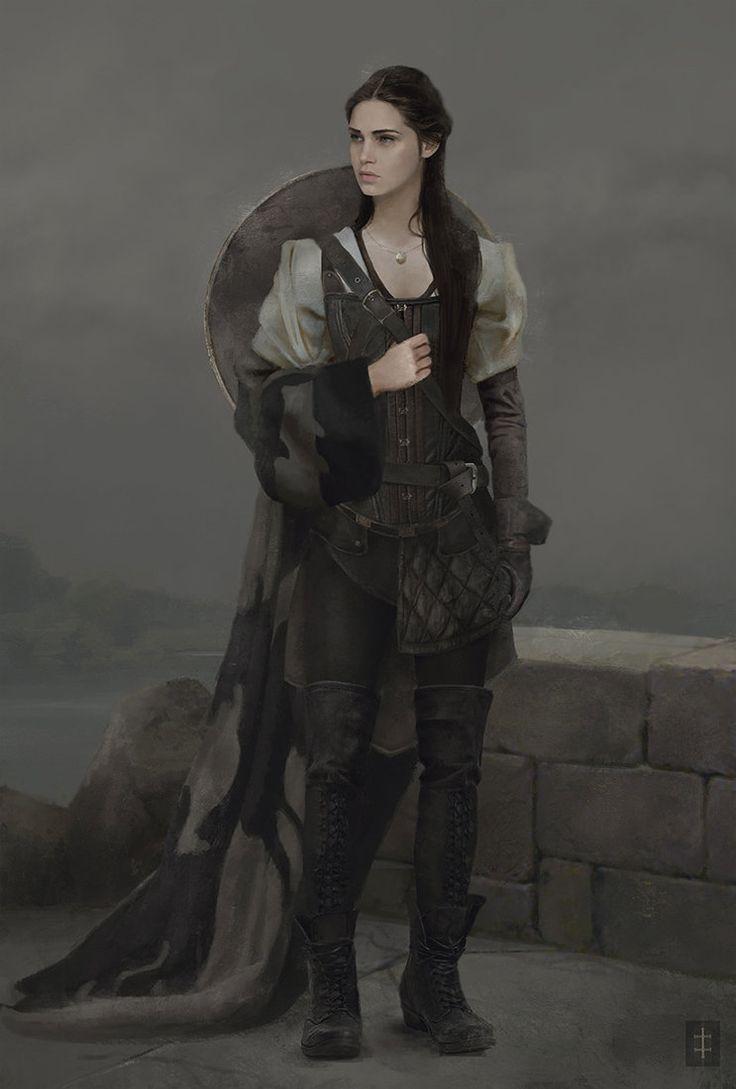 ArtStation - maiden costume concept, Eve Ventrue