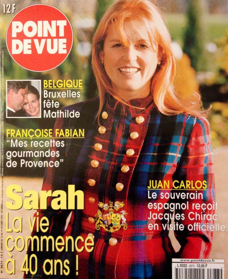 POINT DE VUE n° 2673 magazine Octobre 1999 - Sarah Ferguson