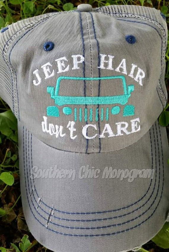 Hey, I found this really awesome Etsy listing at https://www.etsy.com/listing/294709107/jeep-hair-dont-care-trucker-cap-mesh