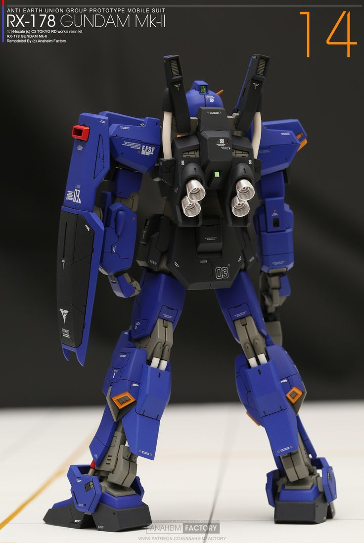 14 [Gallery] RX178 GUNDAM MkII