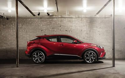 La Toyota C-HR hizo su debut en el Auto SHow de Los Angeles 2016