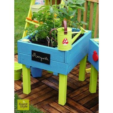 17 meilleures id es propos de jardin d 39 enfants sur - Carre potager jardiland ...