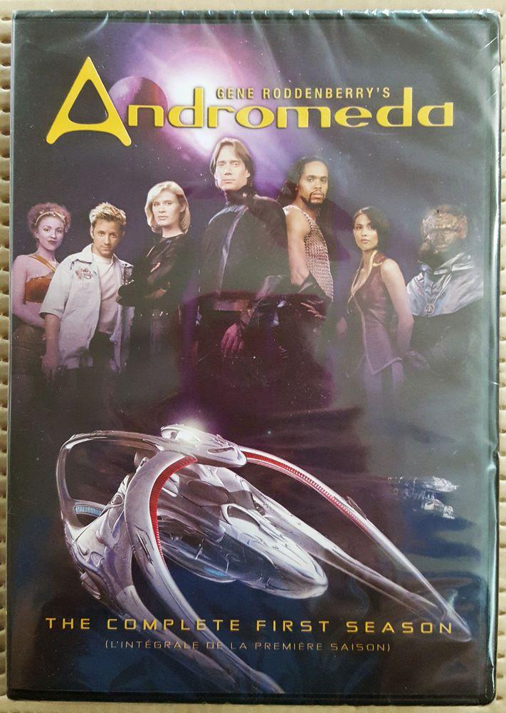 ANDROMEDA, SEASON 1, 6-DISC DVD SET, REGION 1, ENGLISH & FRENCH, BRAND NEW