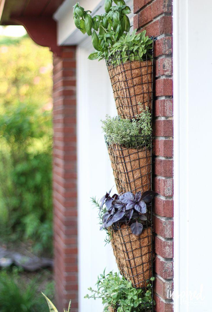 Best 25 Vertical Herb Gardens Ideas On Pinterest