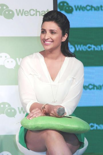 Parineeti Chopra Hot Photos in Mini Skrit At WeChat Event | Looking So Cute | Mash To's