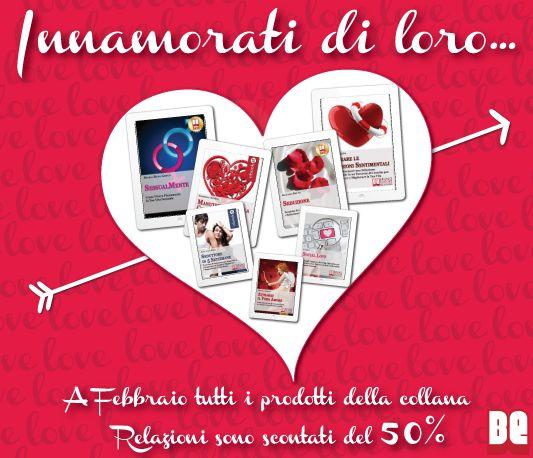 Aspettando #SanValentino... Tutti i nostri #ebook scontati del 50%! http://www.autostima.net/ebook/relazioni/