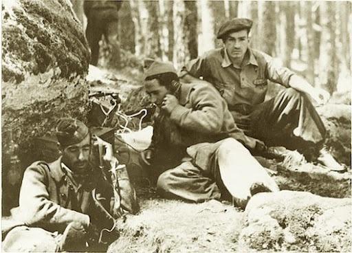 Guerra Civil Española. Posición rebelde en la provincia de Segovia, año 1937