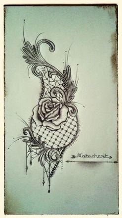 17 meilleures id es propos de tatouage dentelle sur pinterest tatouages rose en dentelle. Black Bedroom Furniture Sets. Home Design Ideas