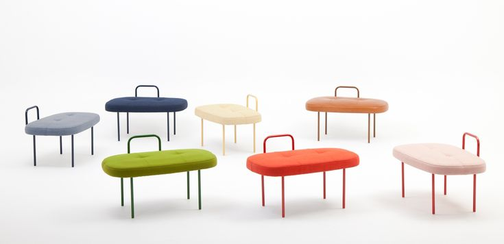 Sol seats collection (7 colors)
