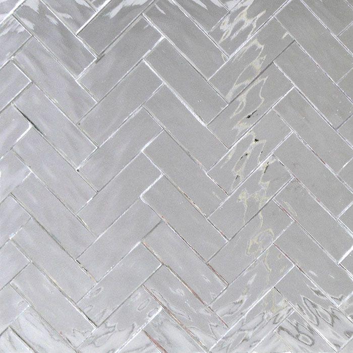 mirror herringbone pattern cool for backsplash home