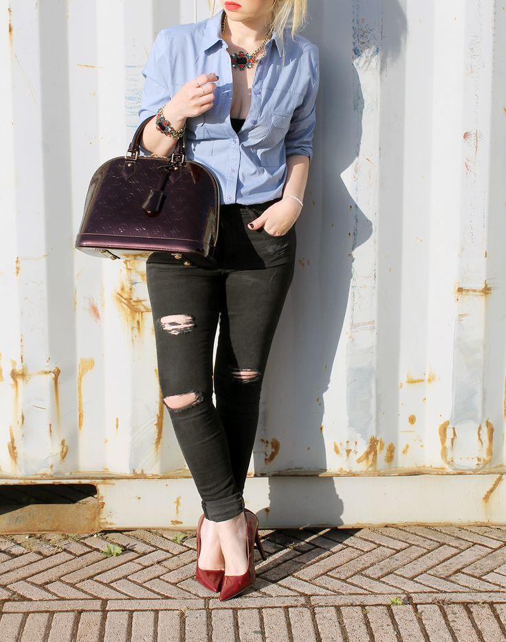 look casual #alma #louisvuitton #bags #borse #outfit #streetstyle #dressingandtoppings #melaniamigliozzi #casual #luxurybag #fashion #look