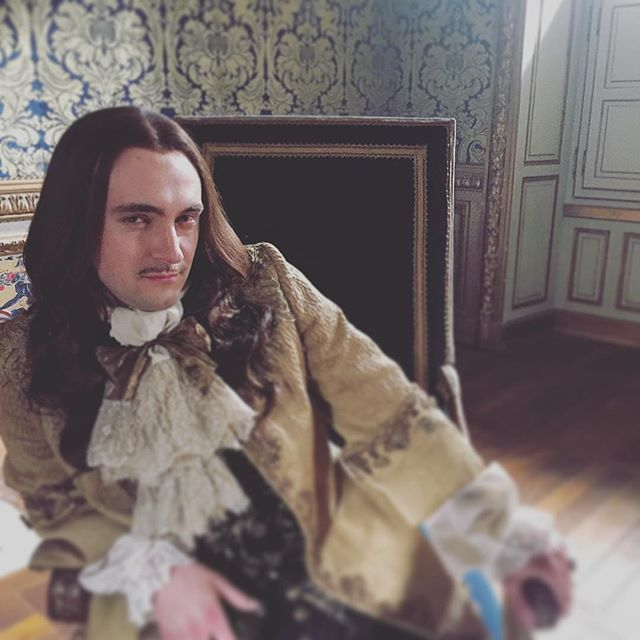 So nice to be working with this looney today... #Versailles #Season2