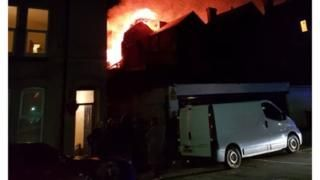 Leicester blast triggers police alert