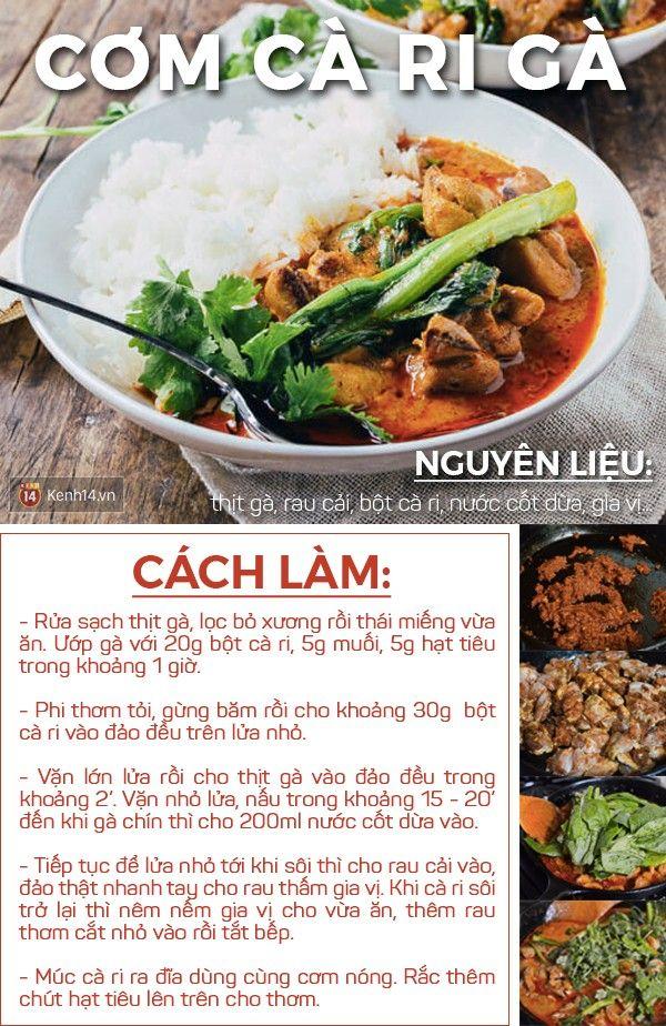 Thực đơn nhà mình hôm nay có một món cà ri Thái, một món Hàn, vừa lạ lẫm vừa hấp dẫn lắm đấy!