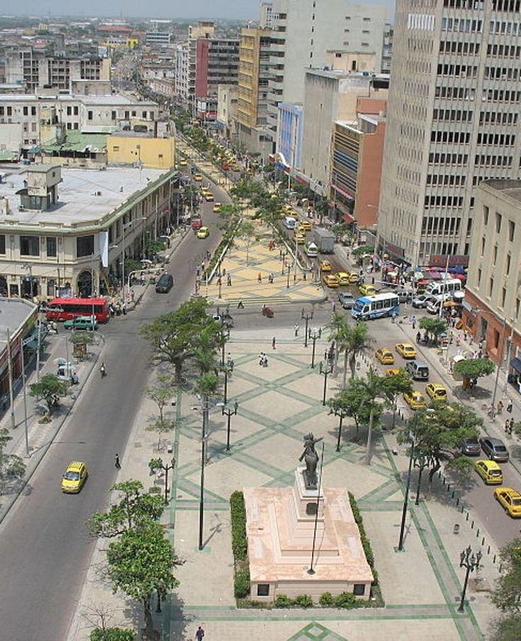 Paseo Bolívar. Barranquilla, Colombia