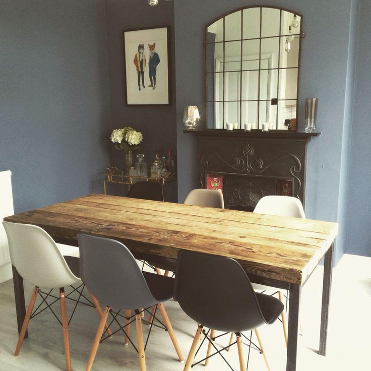 Eames chairs / Juniper Ash - Little Greene