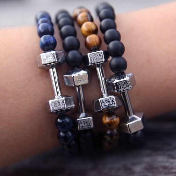 Motivational Fit Bracelets from innerbeastclothing.com