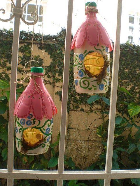 Las 25 mejores ideas sobre espantap jaros de jardin en for Casitas plasticas para jardin