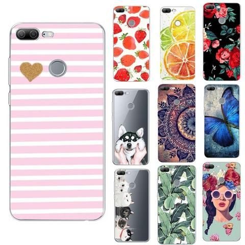 promo code outlet store best value For Huawei P Smart Case Silicon Enjoy 7S Coque Fundas For ...