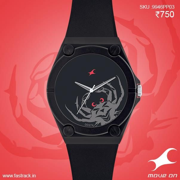 Create your own fortunes with one of the IndividualiTEES on your hand!  #Watch # Cancer #Sunsign #Zodiac  www.fastrack.in/tees/individualitees