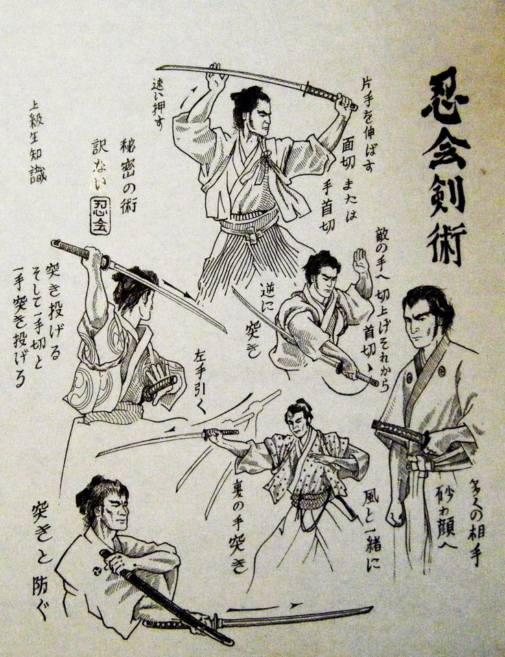 Drawing_-1by-_Antonio_LaMotta_founder_of_Shinobi_Kai_Kenjutsu.jpg (1847×2402)