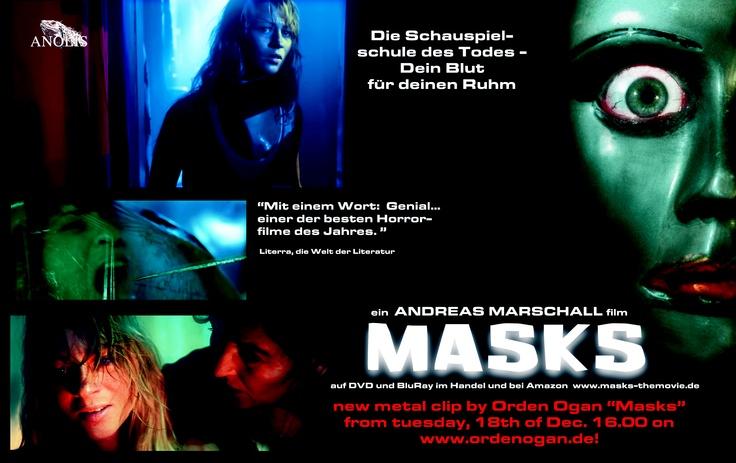 Orden Ogan Clip MASKS will be released tomorrow, 12/16/12, 16.00 on www.ordenogan.de