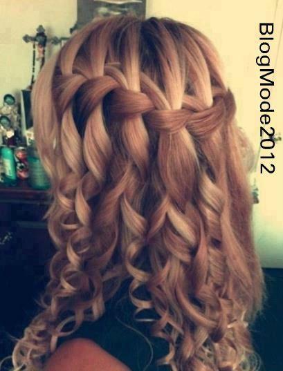 coiffure femme cheveux long mariage - Recherche Google
