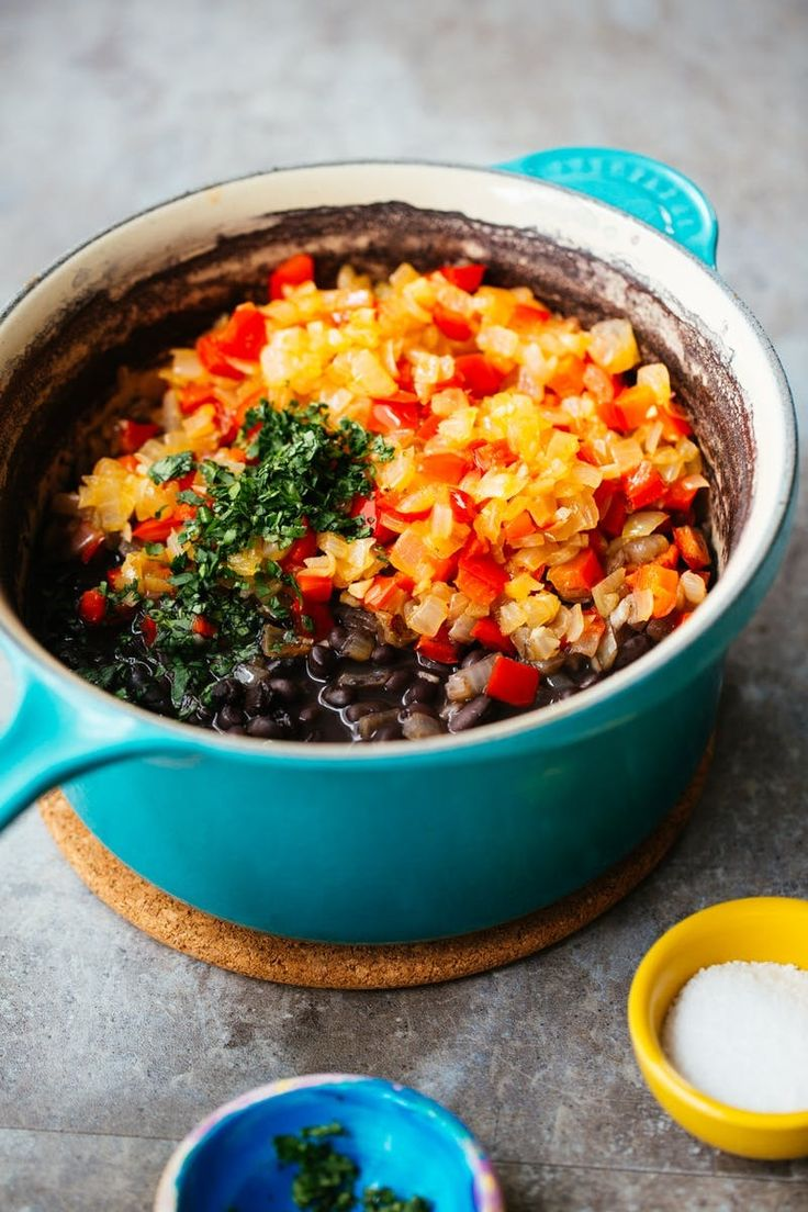 Recipe: Cuban Black Beans and Plantain Breakfast Bowls | Kitchn